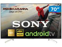 Smart TV 4K LED 70? Sony XBR-70X835F Android