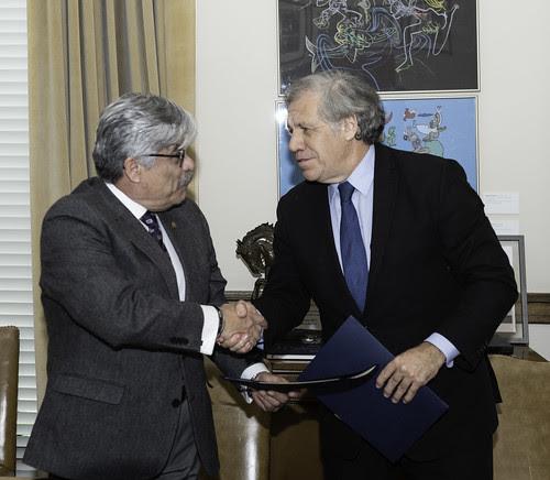 OEA y El Salvador firman acuerdo para Misión de Observación Electoral