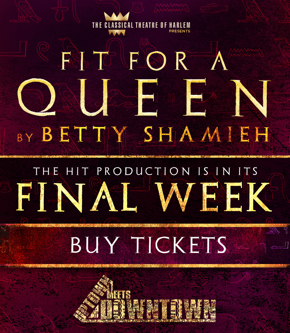"""Fit For a Queen"" in its Final Week!"