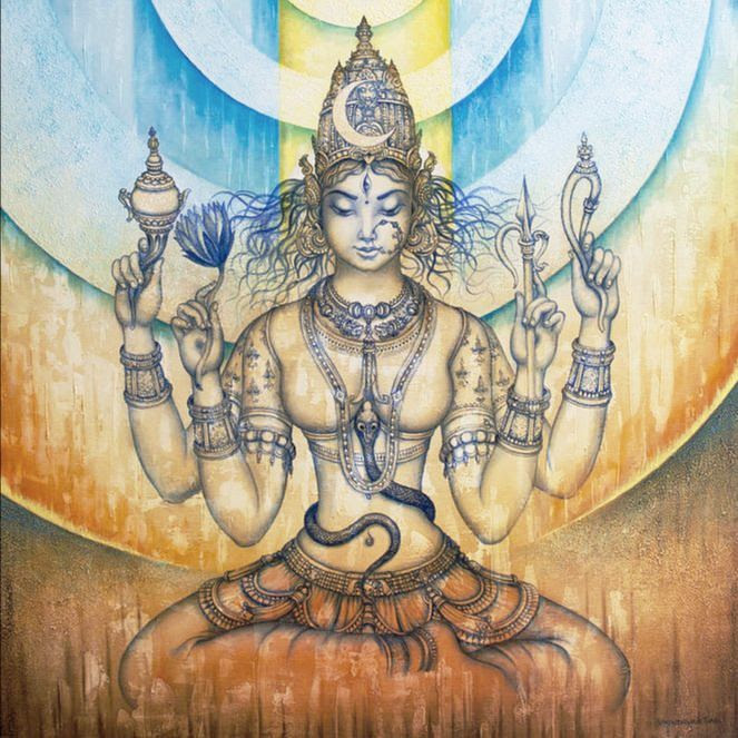 afb. Shakti yoga