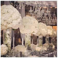 Image result for hydrangea arrangements with crystals