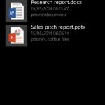 مايكروسوفت تطلق تطبيقها الرسمي لإدارة الملفات لنظام ويندوز فون