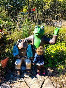 Frogs and Toads Garden at Highfield Discovery Center
