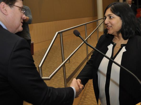 New Councilmember Tanika Padhye