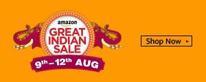 9th-12th Aug | Great Indian Sale
