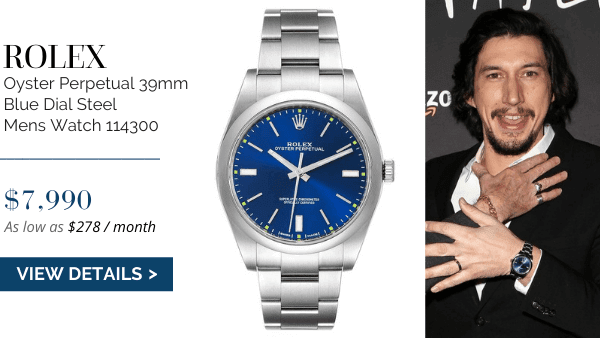 Oyster Perpetual Blue Dial
