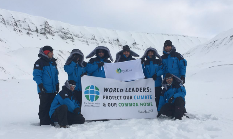 The Laudato Si' expedition to the North Pole. Read the expedition's daily updates online.