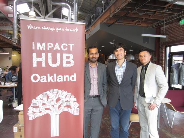 SFMBDA team at Impact Hub Oakland