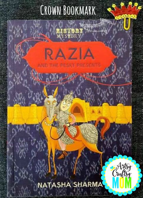 Razia-crown-bookmark