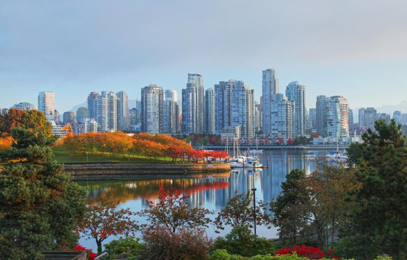 Vancouver has amazing urban environments and nearby nature reserves.