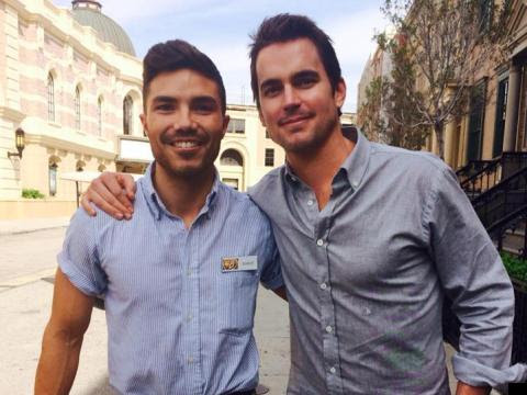 How Matt Bomer Saved This Gay Man's Life