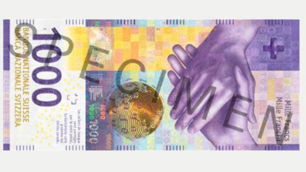 Nota de mil francos