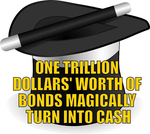 One Trillion Dollars' Worth of Bonds Magically Turn into Cash