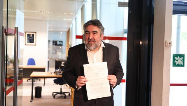 Texto de la carta que el ministro de Cultura ha remitido a las ejecutivas provinciales del PSOE en calidad de secretario de Laicidad