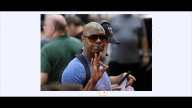 Dave Chappelle's Cousin Says He Was Killed and Cloned - Speaks Out for First Time