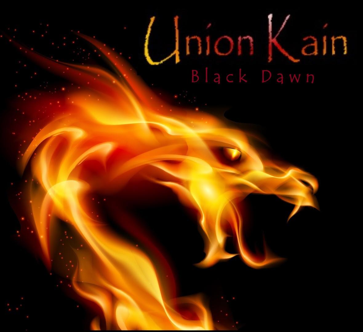 Unon Kain Black Dawn album cover