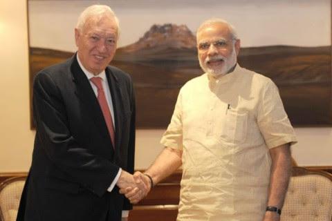 Visita oficial de José Manuel García-Margallo a India