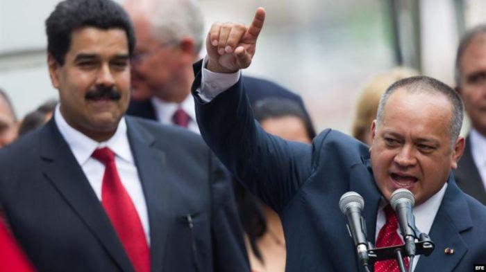 Diosdado entrega a Maduro