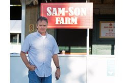 Sam-Son racing manager Tom Zwiesler at the Keeneland September Sale