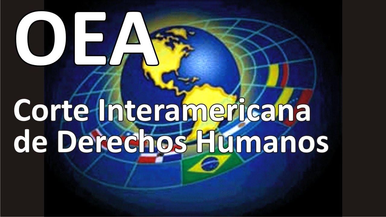 Resultado de imagen para corte interamericana de derechos humanos