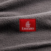 Emirates has introduced new sustainable blankets made from 100% recycled plastic bottles