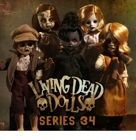 LIVING DEAD DOLLS SERIES 34