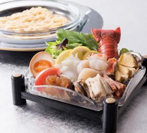 海の幸冷麺