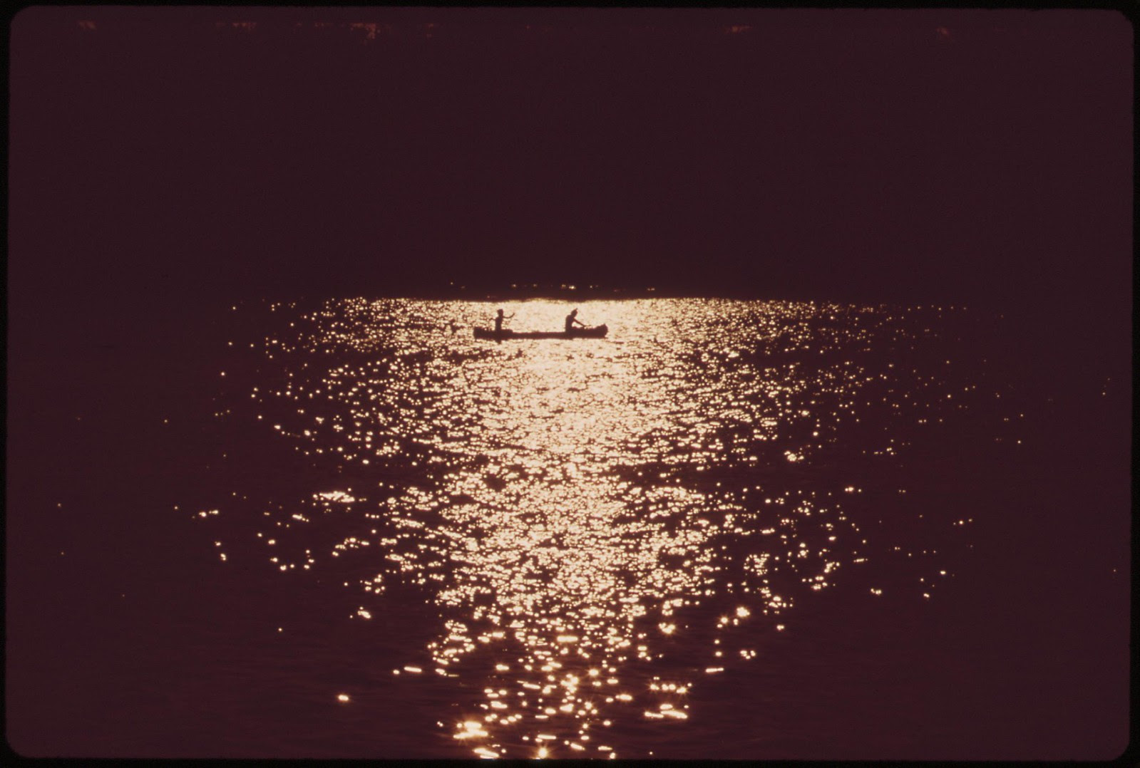 Sunset On The Potomac, September 1973 | by The U.S. National Archives