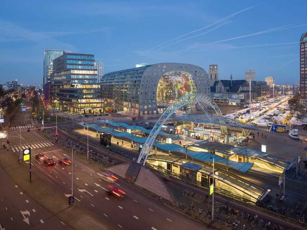 Markthal Rotterdam (Nominated for Best Shopping Center and Special Jury Award)