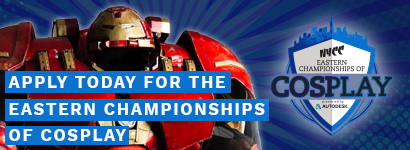 Apply today for the eastern championships of cosplay