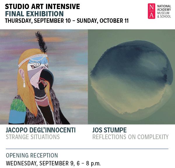 Studio Art Intensive Final Exhibition
