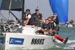 J/88 sailing J/Cup Regatta