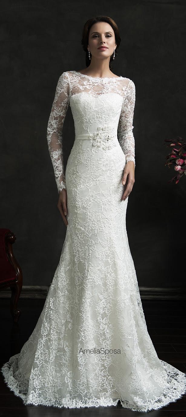 Amelia Sposa 2015 Wedding Dress