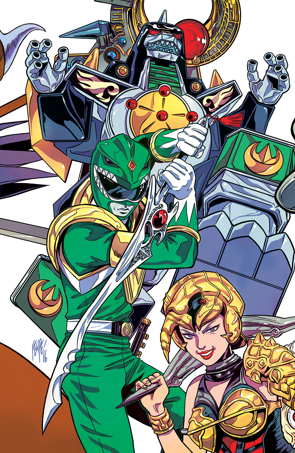 Mighty Morphin Power Rangers #1 ECCC Exclusive