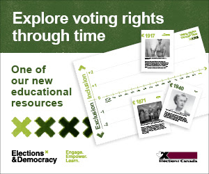 Elections Canada: Discover our new educational resources