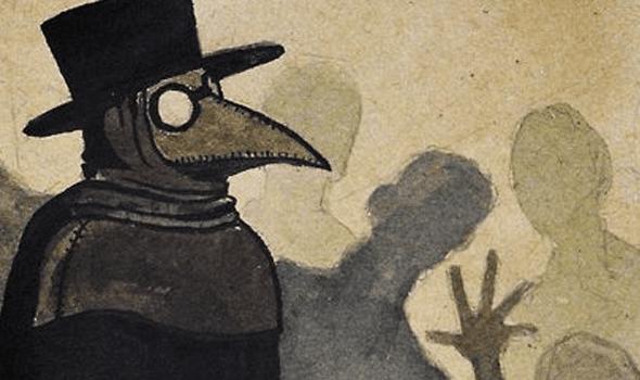 plague-mask-mars-conjunct-chiron
