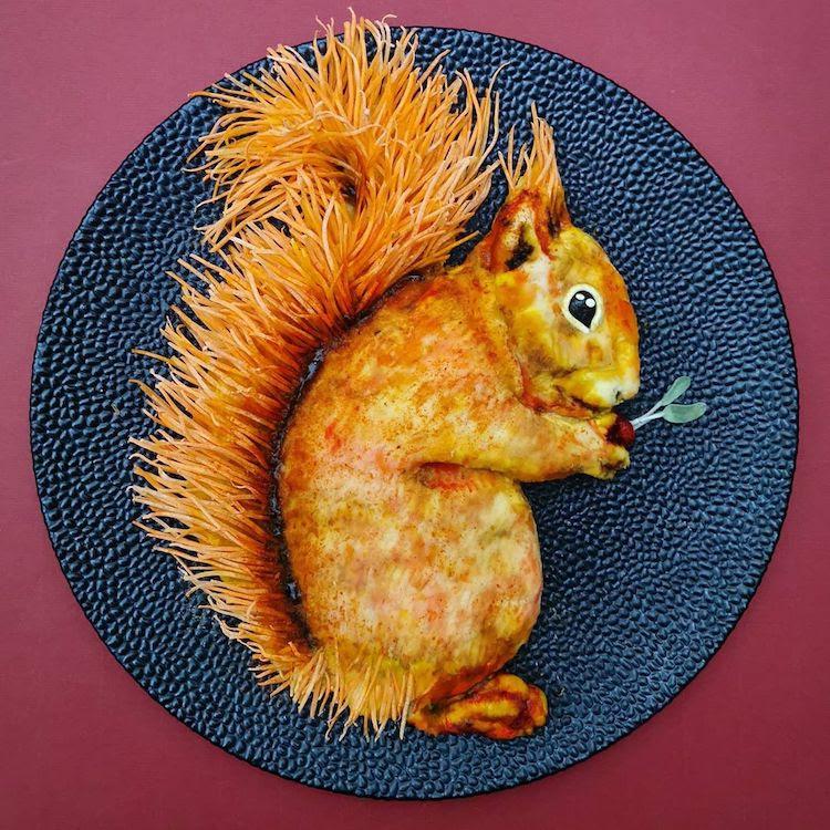 Animal Food Art by De Meal Prepper