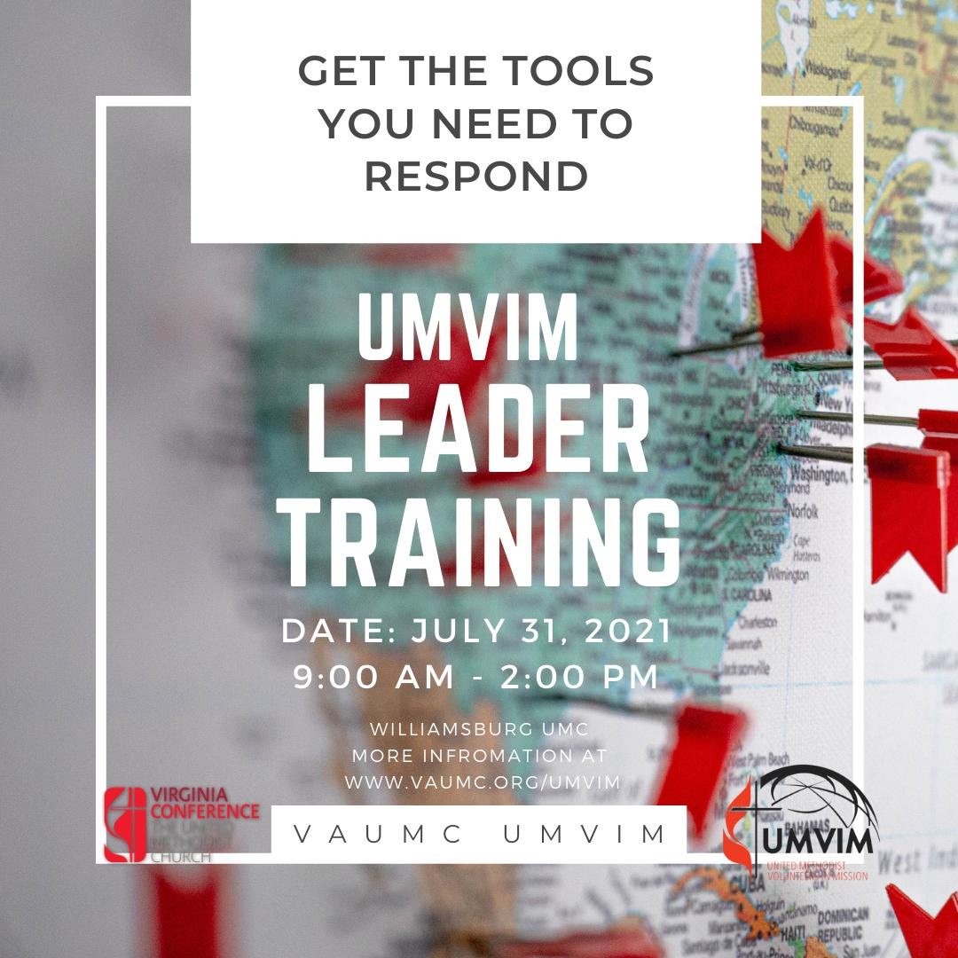 UMVIM Leader Training