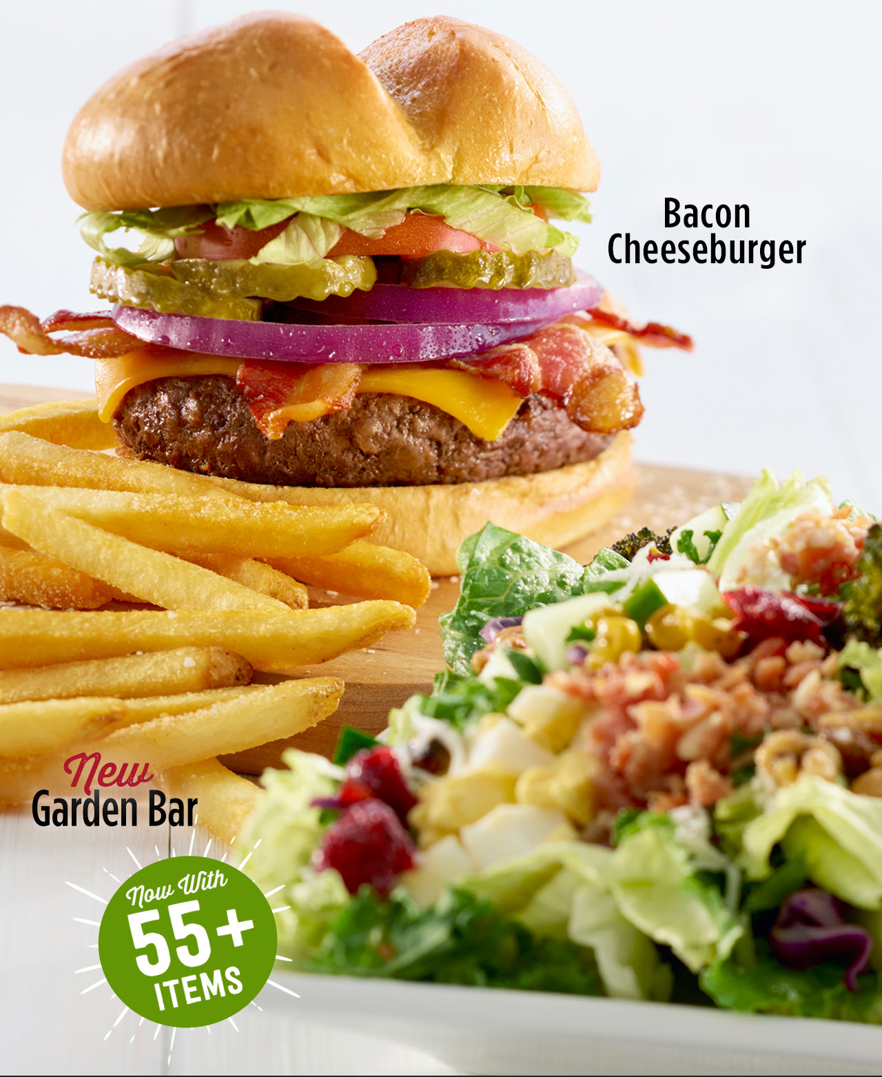 Enjoy a FREE Burger or Garden Bar for Your Birthday!