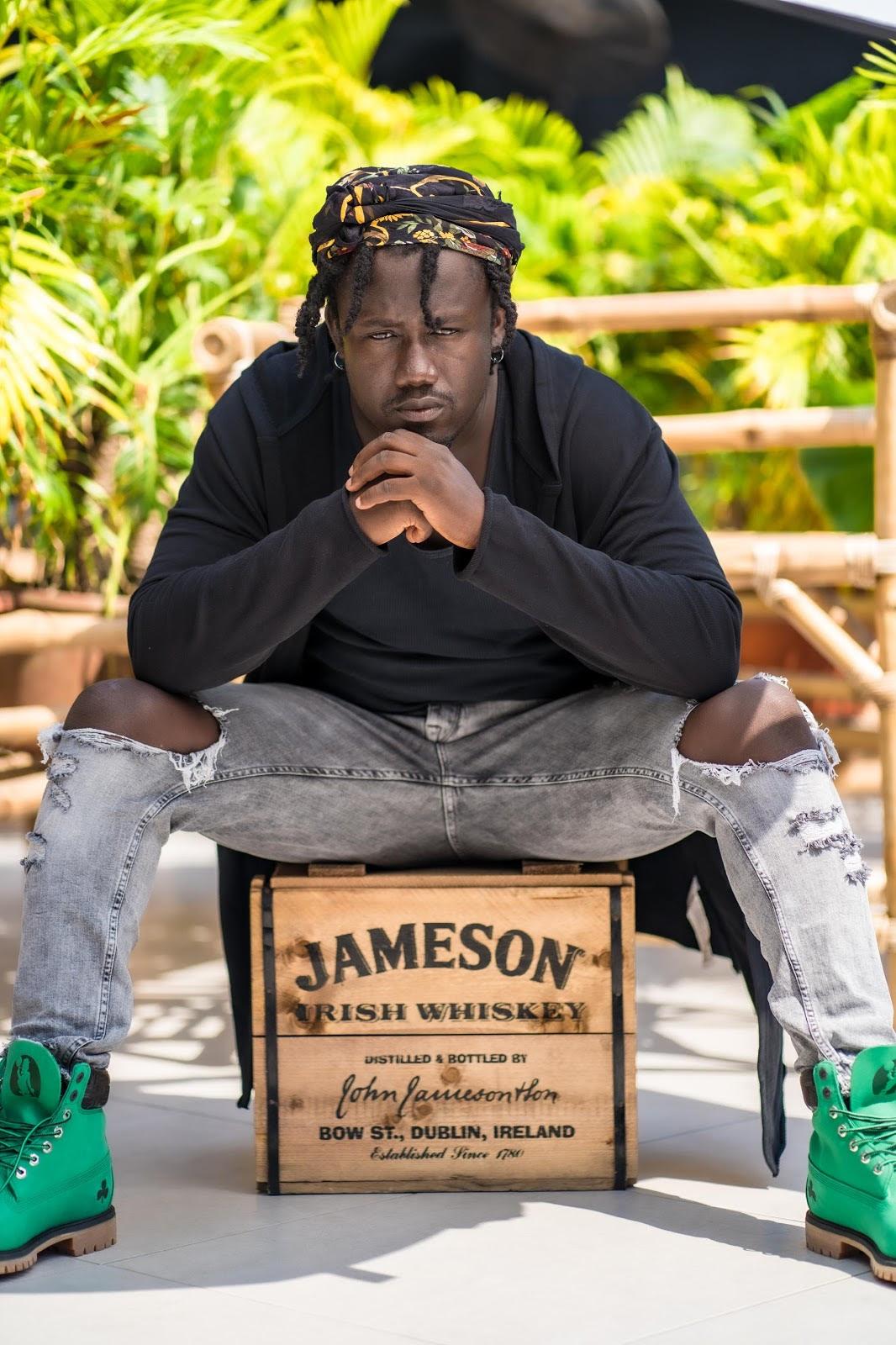 "Graffiti Artist Ashenso featured in Jameson's Final ""More Than"" campaign"