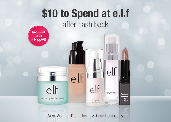 FREE $10 to to shop at e.l.f. Cosmetics 💋💄