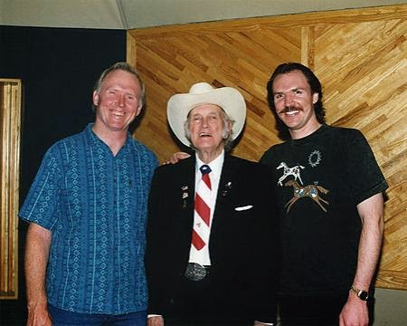Byron Berline, Bill Monroe, Mark O'Conor