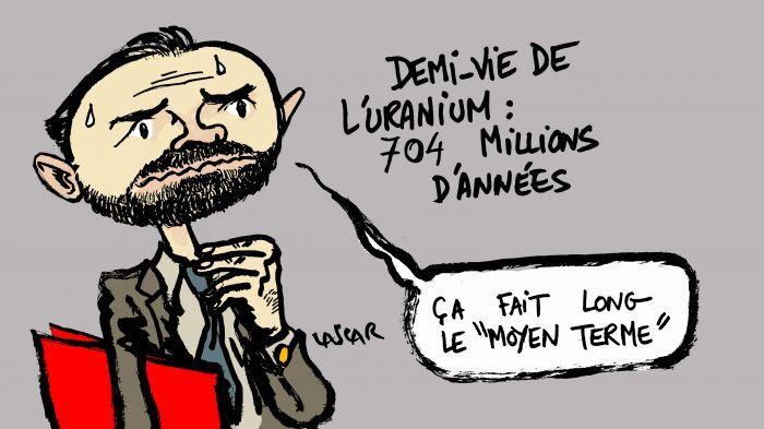 Edouard Philippe et le nucléaire