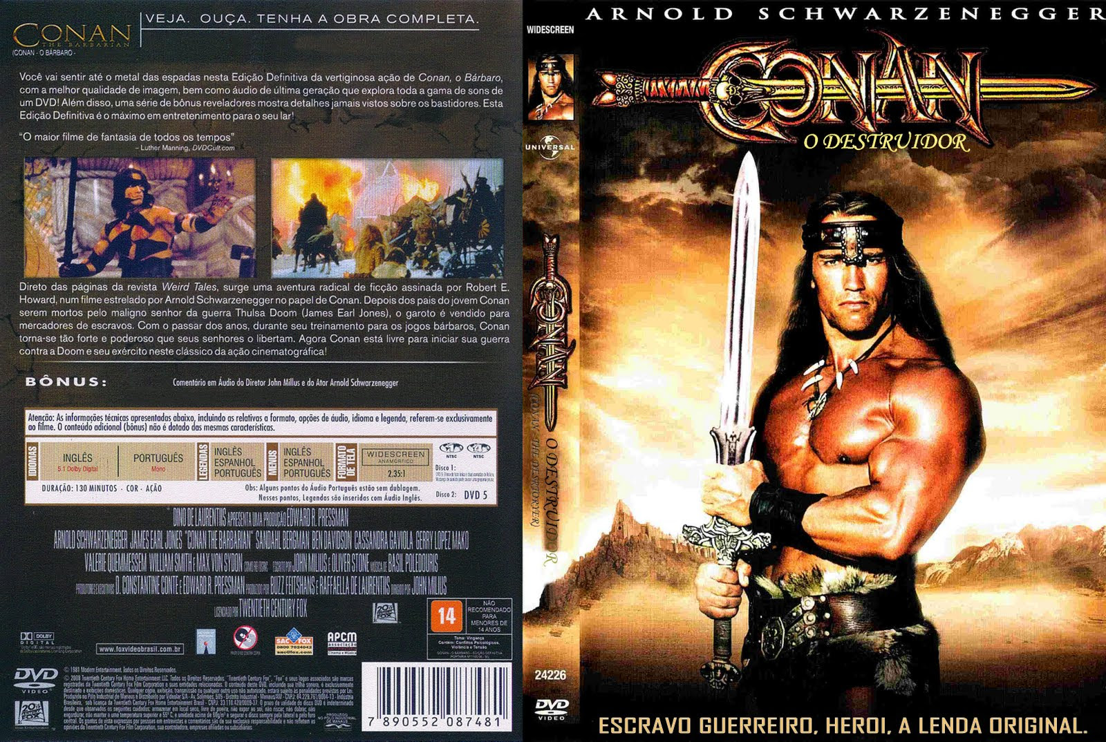 Conan O Destruidor Torrent – BluRay Rip 1080p Dual Áudio (1984)