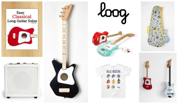 Loog Guitars Make Great Gifts.