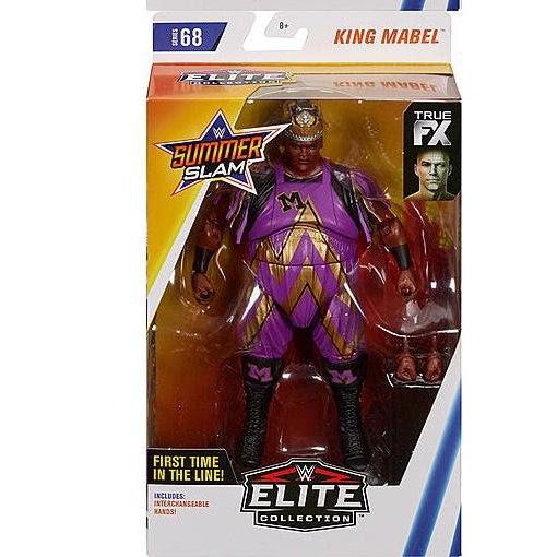 Image of WWE Wrestling Elite Series 68 - King Mabel