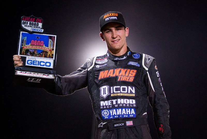 Brock Heger, Maxxis Tires, Icon Suspension, Method Race Wheels, Yamaha Racing, Bink Designs