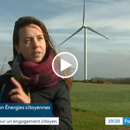 Reportage France 3 Pays de Loire sur les parcs éoliens citoyens
