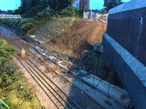 Emergency repairs to bridge means road and rail disruption in Bolton