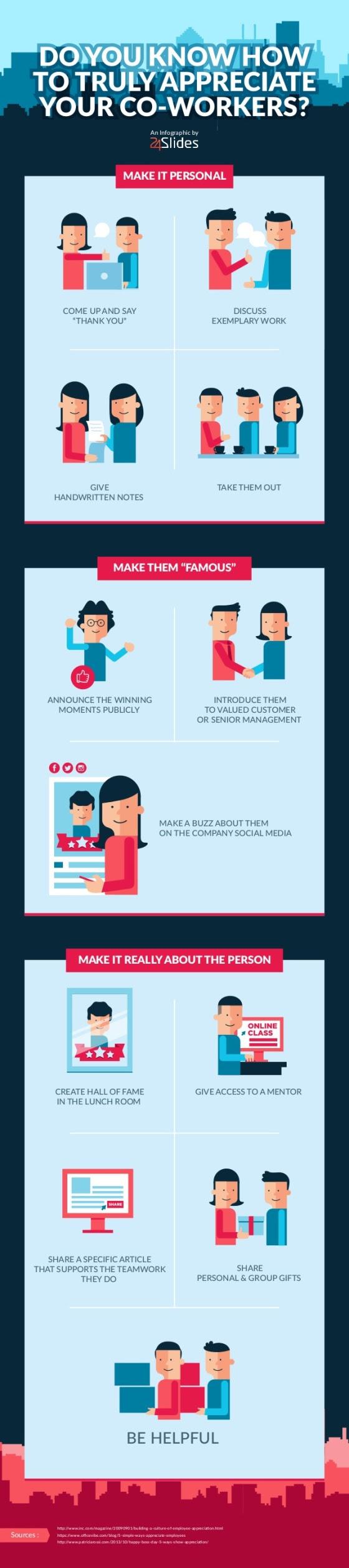 ¿Te aprecian realmente tus compañeros de trabajo?